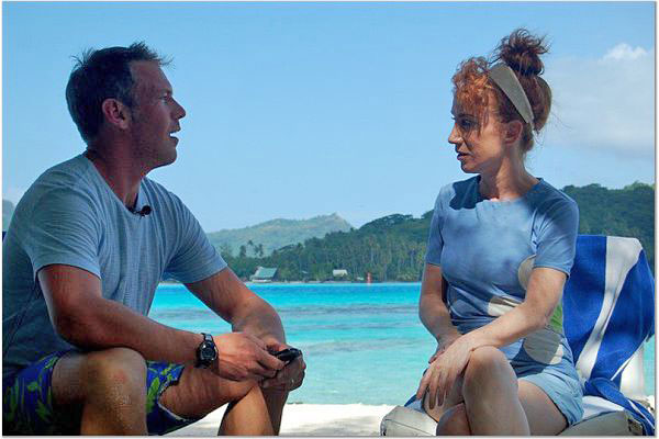 samkathyinterview Kathy Griffin & The Pages are Busted in Bora Bora
